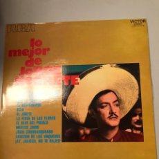 Discos de vinilo: LO MEJOR DE JORGE NEGRETE LP. Lote 173810964