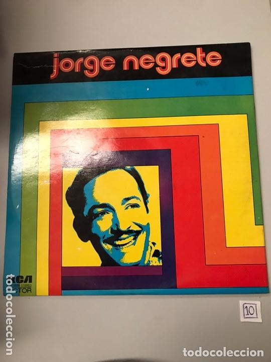LP JORGE NEGRETE (Música - Discos - LP Vinilo - Cantautores Extranjeros)
