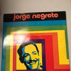 Discos de vinilo: LP JORGE NEGRETE. Lote 173811034