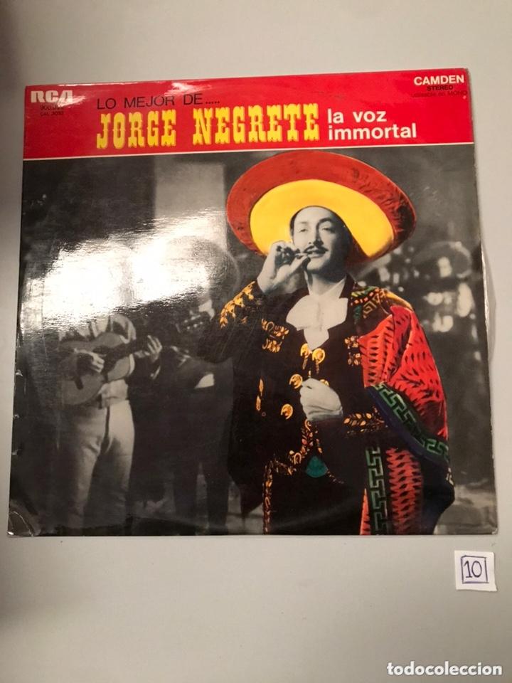 JORGE NEGRETE - LA VOZ INMORTAL (Música - Discos - LP Vinilo - Cantautores Extranjeros)