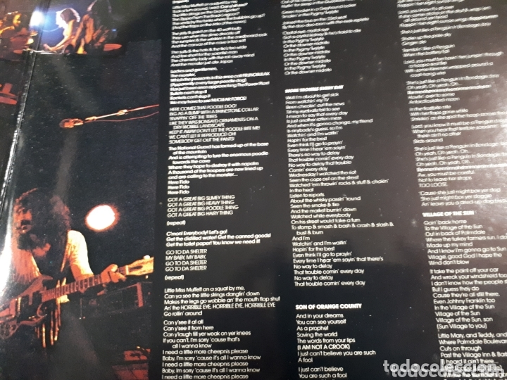 Discos de vinilo: FRANK ZAPPA ROXY & ELSEWHERE DOBLE LP - Foto 3 - 173812774