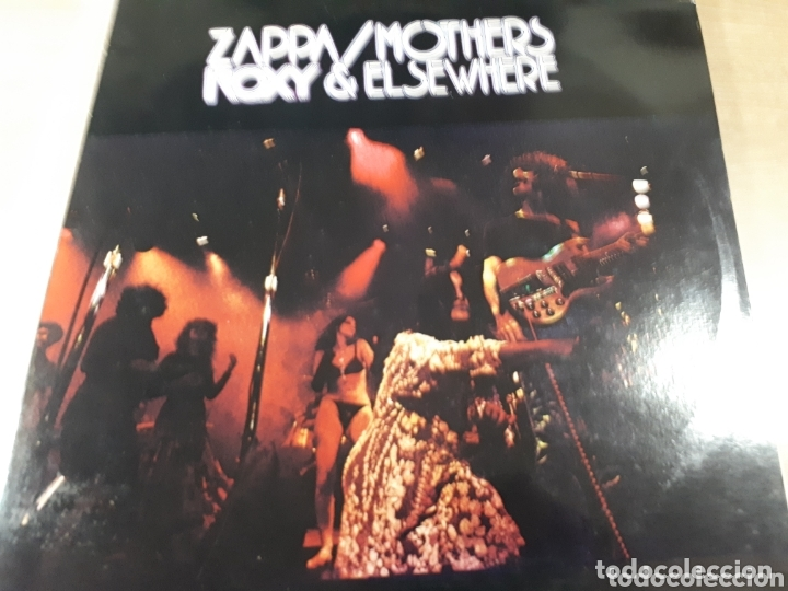 FRANK ZAPPA ROXY & ELSEWHERE DOBLE LP (Música - Discos - LP Vinilo - Pop - Rock - Extranjero de los 70)