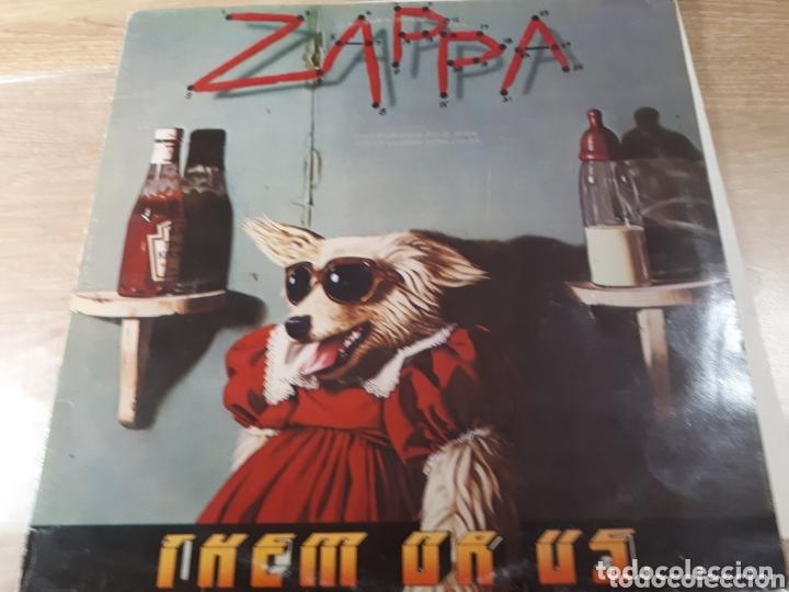 FRANK ZAPPA THEM OR US DOBLE LP (Música - Discos - LP Vinilo - Pop - Rock - Extranjero de los 70)