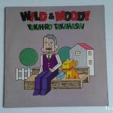 Discos de vinilo: YUKIHIRO TAKAHASHI ( YELLOW MAGIC ORCHESTRA ) - WILD & MOODY LP 1985 EDICION INGLESA . Lote 173813288