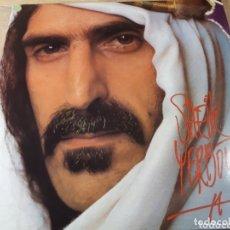 Discos de vinilo: FRANK ZAPPA SHEIK YERBOUTI DOBLE LP. Lote 173813308