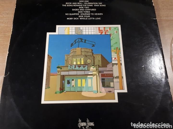Discos de vinilo: LED ZEPPELIN THE SONG REMAINS THE SAME DOBLE LP - Foto 2 - 173813760