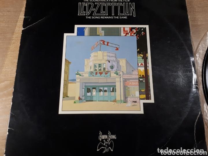 LED ZEPPELIN THE SONG REMAINS THE SAME DOBLE LP (Música - Discos - LP Vinilo - Pop - Rock - Extranjero de los 70)