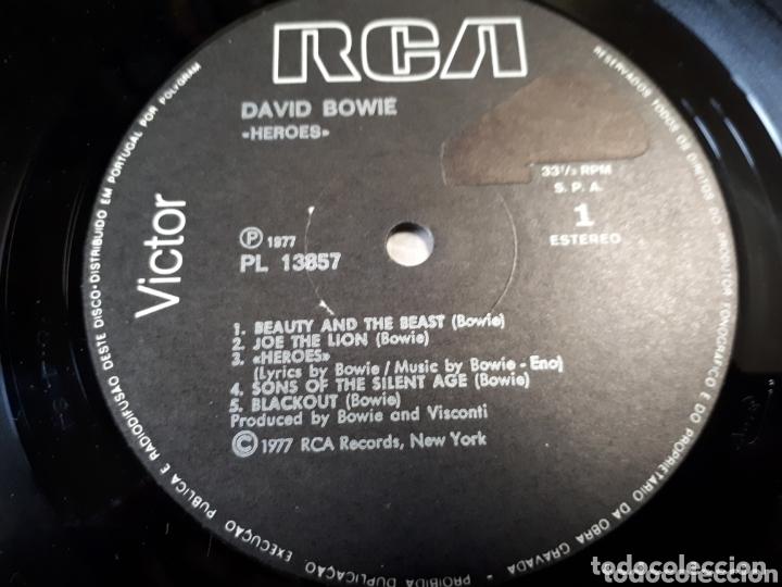 Discos de vinilo: DAVID BOWIE HEROES - Foto 3 - 173814362