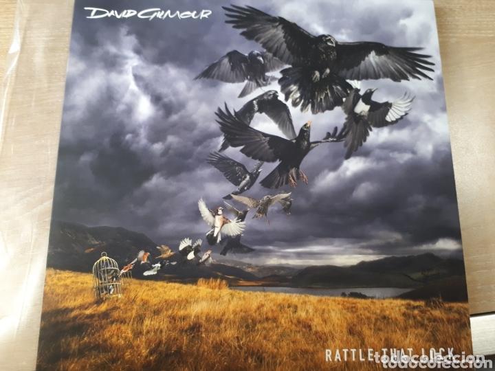 DAVID GILMOUR RATTLE THAT LOCK GUITARRISTA Y VOCAL DE PINK FLOYD (Música - Discos - LP Vinilo - Pop - Rock - Extranjero de los 70)