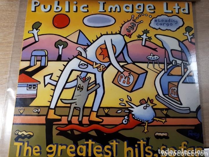 P.IL. PUBLIC IMAGE LTD GREATEST HITS.... SO FAR DOBLE LP (Música - Discos - LP Vinilo - Pop - Rock Extranjero de los 90 a la actualidad)