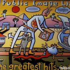 Discos de vinilo: P.IL. PUBLIC IMAGE LTD GREATEST HITS.... SO FAR DOBLE LP. Lote 173817377