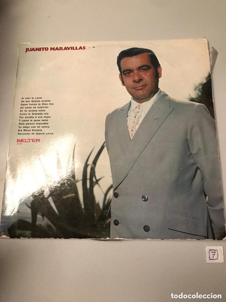 JUANITO MARAVILLAS (Música - Discos - LP Vinilo - Flamenco, Canción española y Cuplé)