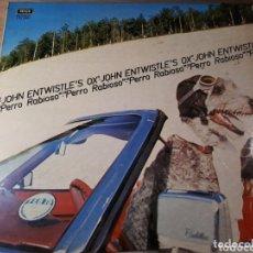 Discos de vinilo: JOHN ENTWISTLE S PERRO RABIOSO MAD DOG MUY DIFICIL CONSEGUIR 1975 BAJISTA DE THE WHO. Lote 173817575