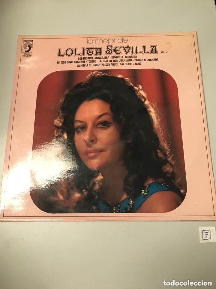 LOLITA SEVILLA (Música - Discos - LP Vinilo - Flamenco, Canción española y Cuplé)