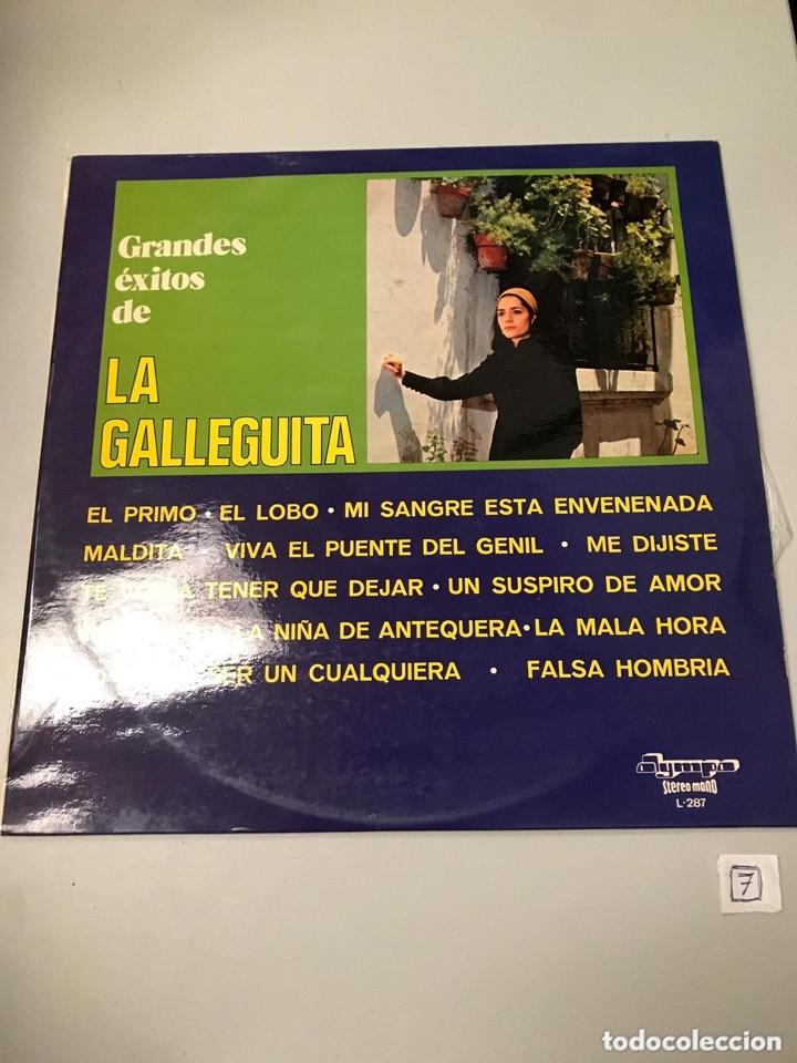 LA GALLETITA (Música - Discos - LP Vinilo - Flamenco, Canción española y Cuplé)