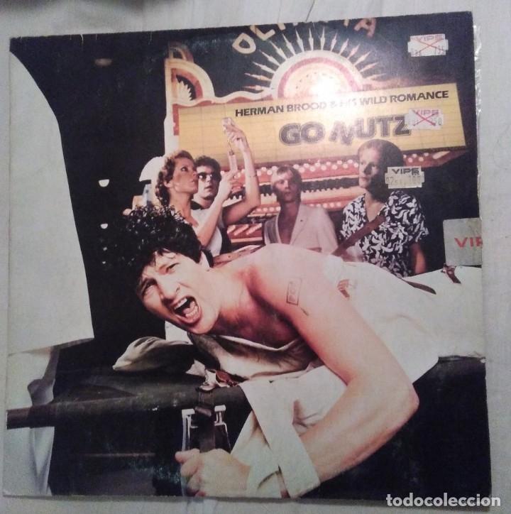 HERMANN BROOD & THE WILD ROMANCE . GO NUTZ. 1979 (Música - Discos - LP Vinilo - Pop - Rock - Extranjero de los 70)