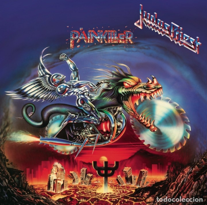 JUDAS PRIEST PAINKILLER LP INSERTO 180 GRAM (Música - Discos - LP Vinilo - Heavy - Metal)