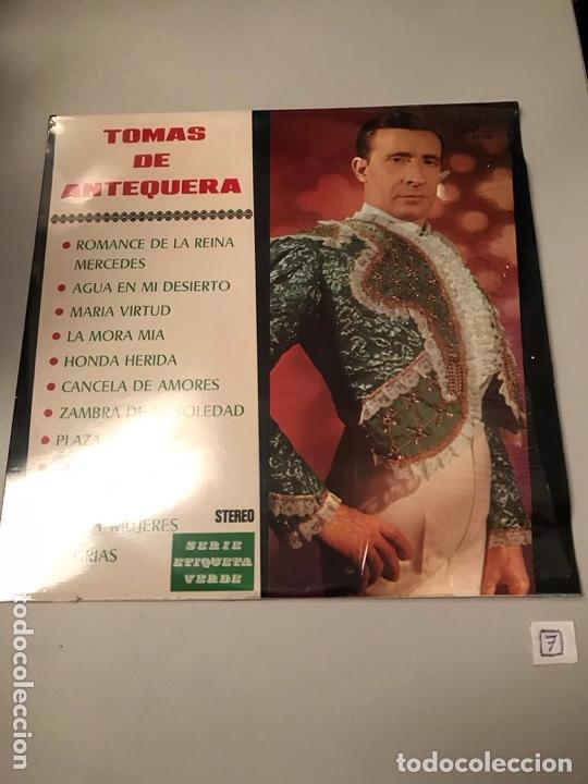 TOMÁS ANTEQUERA (Música - Discos - LP Vinilo - Flamenco, Canción española y Cuplé)