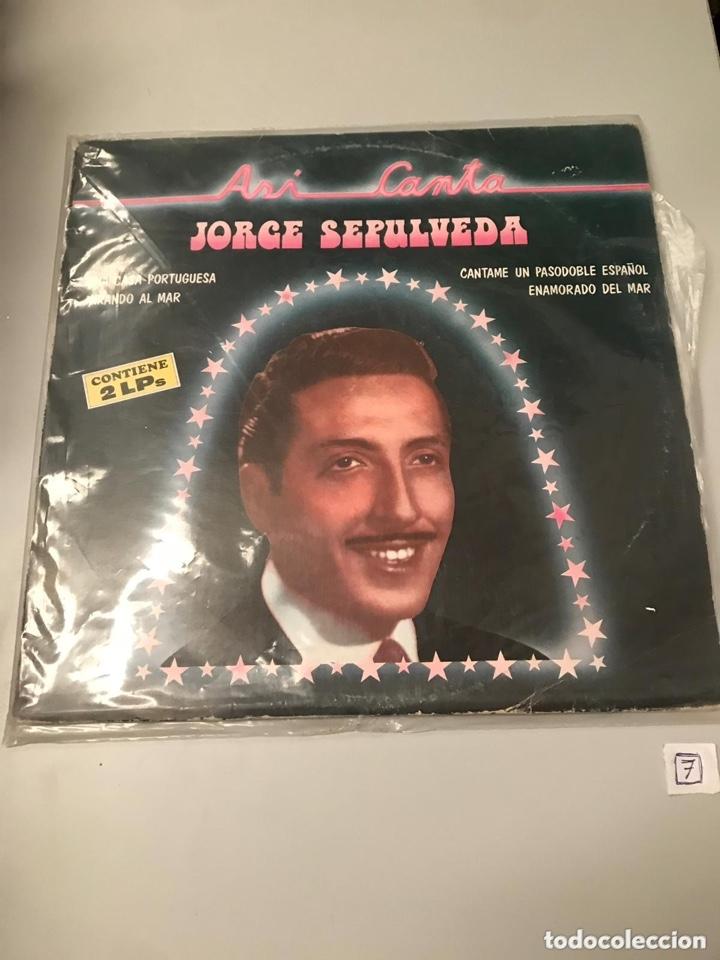 JORGE SEPÚLVEDA (Música - Discos - LP Vinilo - Clásica, Ópera, Zarzuela y Marchas)