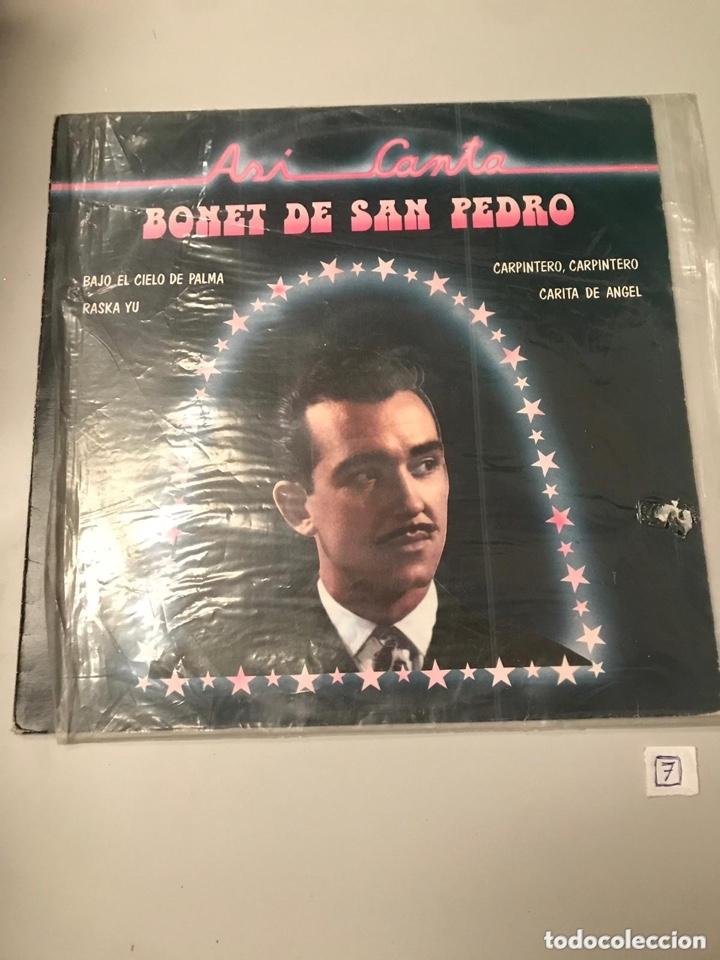 BONET DE SAN PEDRO (Música - Discos - LP Vinilo - Flamenco, Canción española y Cuplé)
