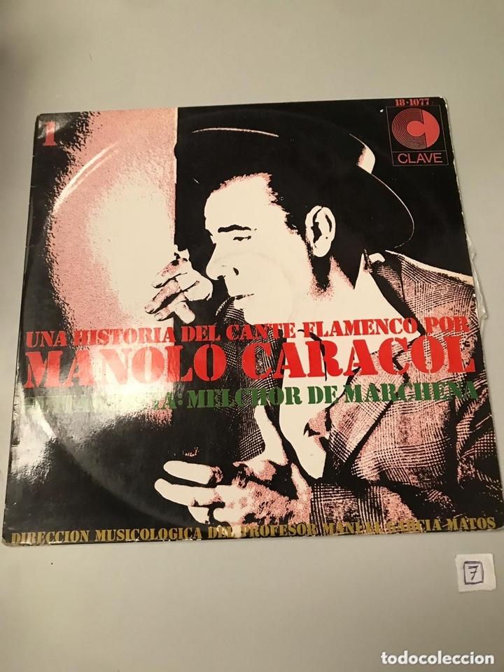 MANOLO CARACOL (Música - Discos - LP Vinilo - Flamenco, Canción española y Cuplé)