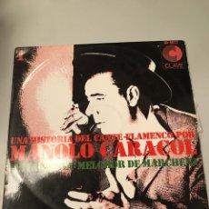 Discos de vinilo: MANOLO CARACOL. Lote 173817867
