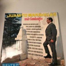 Discos de vinilo: JUANITO MARAVILLAS. Lote 173817894