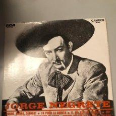 Discos de vinilo: JORGE NEGRETE. Lote 173818482