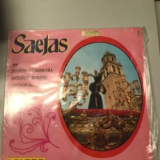 Discos de vinilo: SAETAS. Lote 173818820