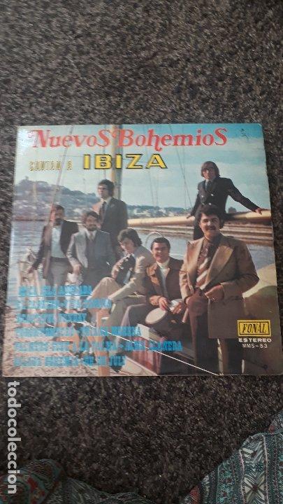 NUEVOS BOHEMIOS CANTAN A IBIZA (Música - Discos - LP Vinilo - Grupos Españoles de los 70 y 80)