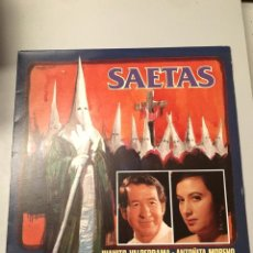 Discos de vinilo: SAETAS. Lote 173819047