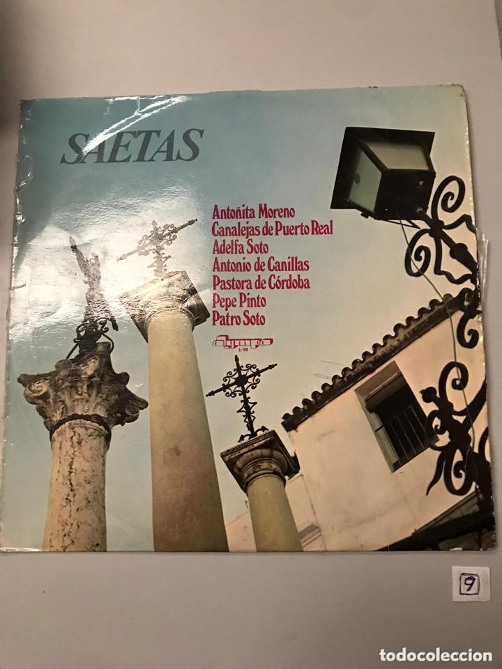SAETAS (Música - Discos - LP Vinilo - Flamenco, Canción española y Cuplé)