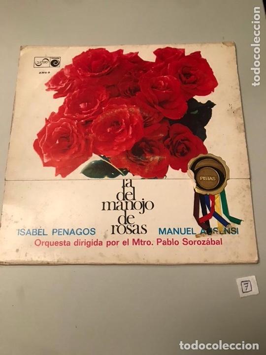LA DEL MANOJO DE ROSAS (Música - Discos - LP Vinilo - Flamenco, Canción española y Cuplé)