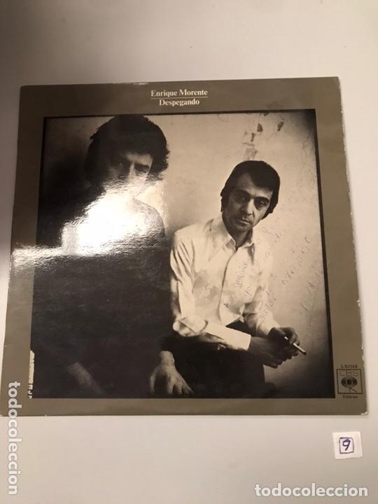 ENRIQUE MORENTE - DESPEGÁNDO (Música - Discos - LP Vinilo - Flamenco, Canción española y Cuplé)