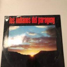 Discos de vinilo: LOS INDIANOS DE PARAGUAY. Lote 173832210