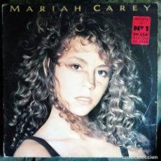 Discos de vinilo: MARIAH CAREY – MARIAH CAREY LP, SPAIN 1990 INCL ENCARTE LETRAS. Lote 173834648