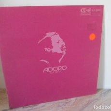 Discos de vinilo: ADORO MINI ROSSO. LP VINILO. CD-4 DISCRETE 4 CHANNEL RECORDS. GLOBE 1973. VER FOTOGRAFIAS. Lote 173834784