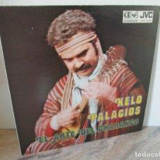 Discos de vinilo: KELO PALACIOS. EL ARTE DEL CHARANGO. LP VINILO. CD4 CHANNEL ECORDS. VICTOR MUSICAL 1976.. Lote 173835248