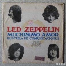 Discos de vinilo: PEDIDO MINIMO 5€.SOLO PORTADA,SIN DISCO EN SU INTERIOR.LED ZEPPELIN. Lote 173836865