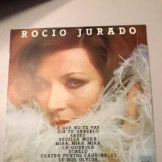 Discos de vinilo: ROCIÓ JURADO. Lote 173837068