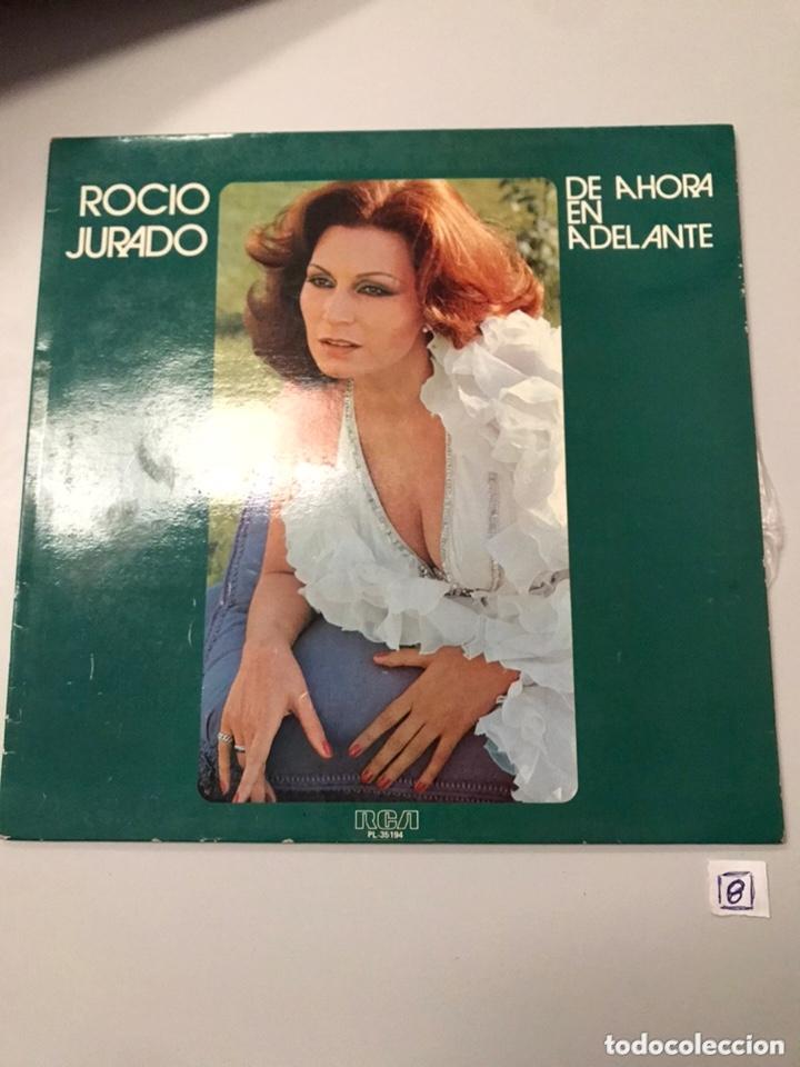 DE AHORA EN ADELANTE ... ROCIO JURADO LP (Música - Discos - LP Vinilo - Flamenco, Canción española y Cuplé)
