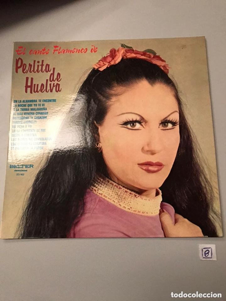 PERLITA DE HUELVA EL CANTE FLAMENCO DE...LP (Música - Discos - LP Vinilo - Flamenco, Canción española y Cuplé)