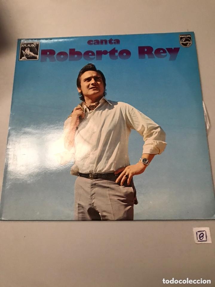 CANTA ROBERTO REY LP (Música - Discos - LP Vinilo - Flamenco, Canción española y Cuplé)
