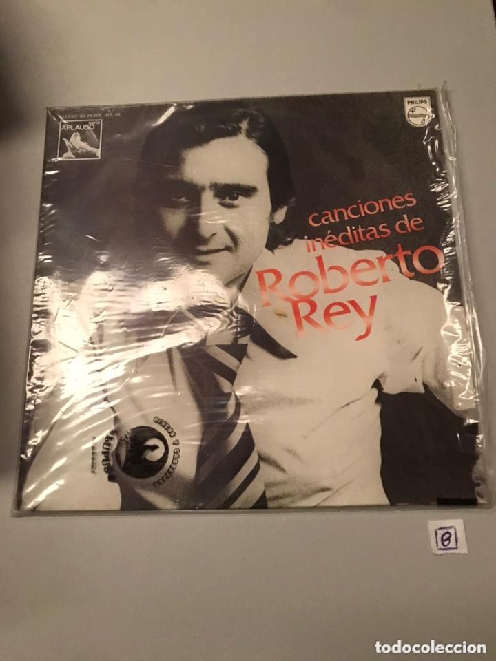 ROBERTO REY-LP CANCIONES INEDITAS-1976 (Música - Discos - LP Vinilo - Flamenco, Canción española y Cuplé)