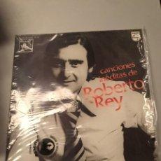 Discos de vinilo: ROBERTO REY-LP CANCIONES INEDITAS-1976. Lote 173843494