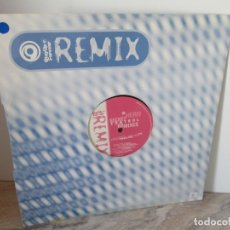 Discos de vinilo: HERO SECRET CONTROL REMIXES. STAY UP FOR EVER REMIX. LP VINILO. VER FOTOGRAFIAS ADJUNTAS. Lote 173851093