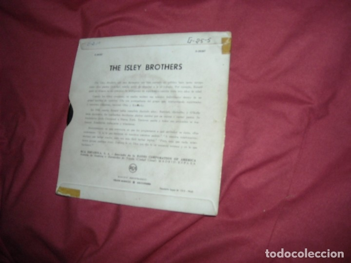 Discos de vinilo: THE ISLEY BROTHERS - EP . 1960. When the saints go marching spa ver fotos - Foto 2 - 173851999