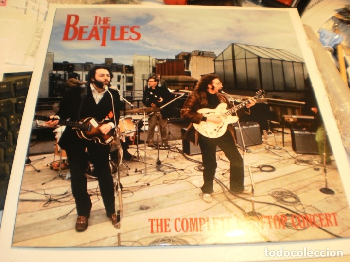 LP AZUL THE BEATLES. THE COMPLETE ROOFTOP CONCERT. APPLE RECORDS 1969 USA (SEMINUEVO) (Música - Discos - LP Vinilo - Pop - Rock Extranjero de los 50 y 60)