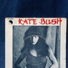 Discos de vinilo: KATE BUSH VINILO SINGLE WUTTERING HEIGHTS CUMBRES BORRASCOSAS EMI 1978. Lote 173854907