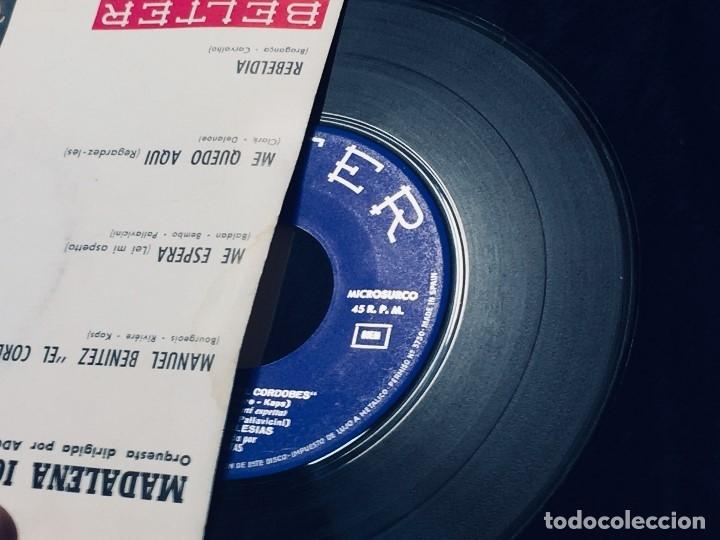 Discos de vinilo: MADALENA IGLESIAS BELTER EL CORDOBES ME ESPERA ME QUEDO AQUI - Foto 3 - 173855075